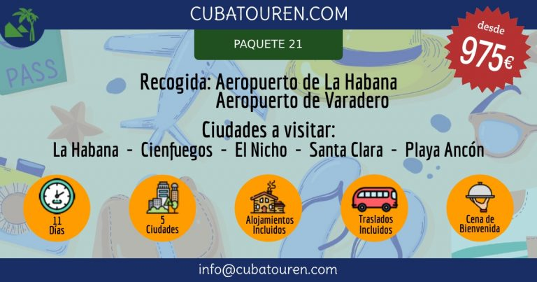 Paquete Turístico Occidente Cuba (21)